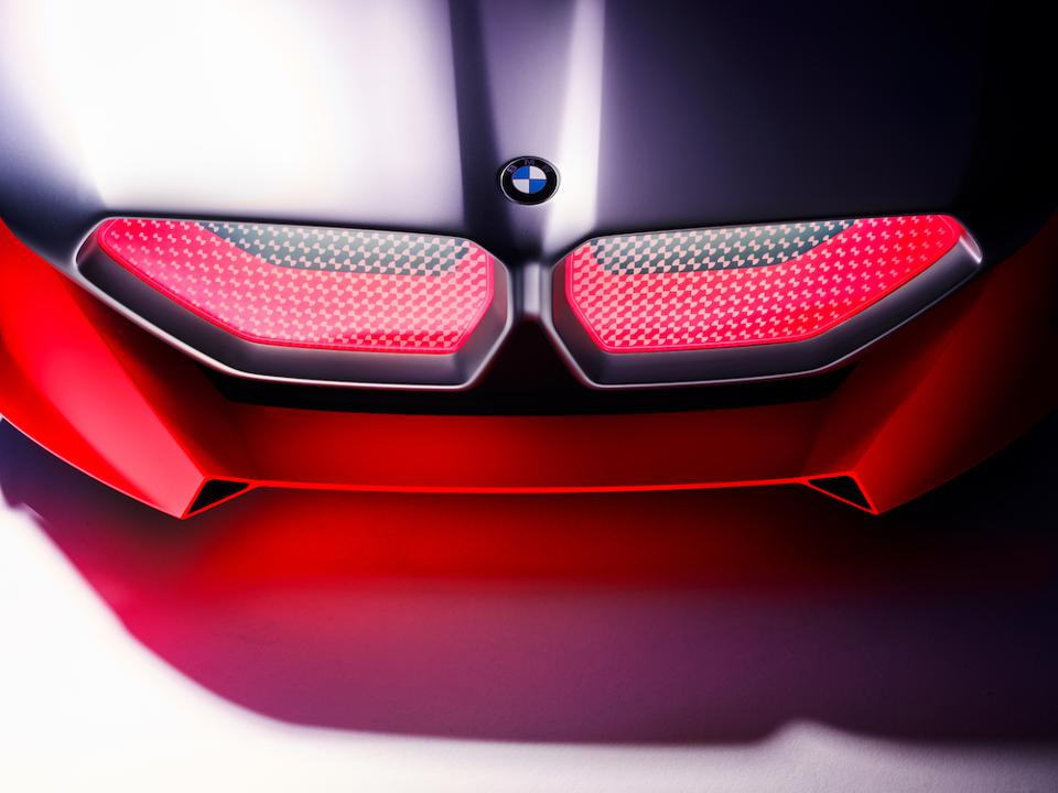 The face is a modern interpretation of the classic kidney grille, as the car debuts innovative Laser Wire light technology for a unique light design theme