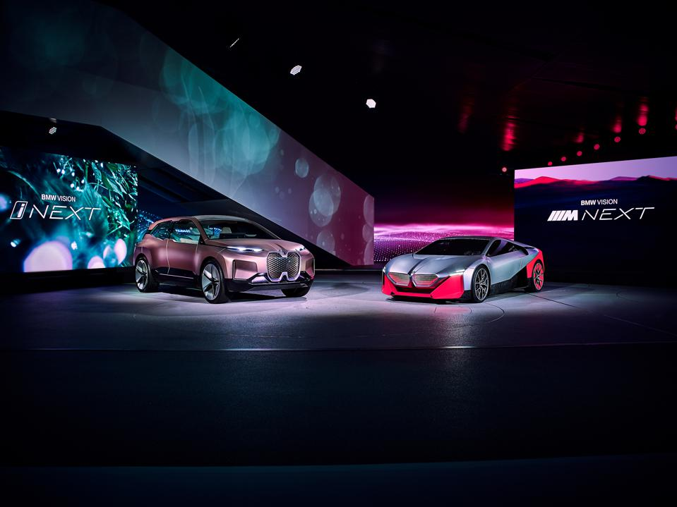 Vehicles were unveiled at BMW's  ″BMW Welt″ event promoting the automaker's personal mobility innovations