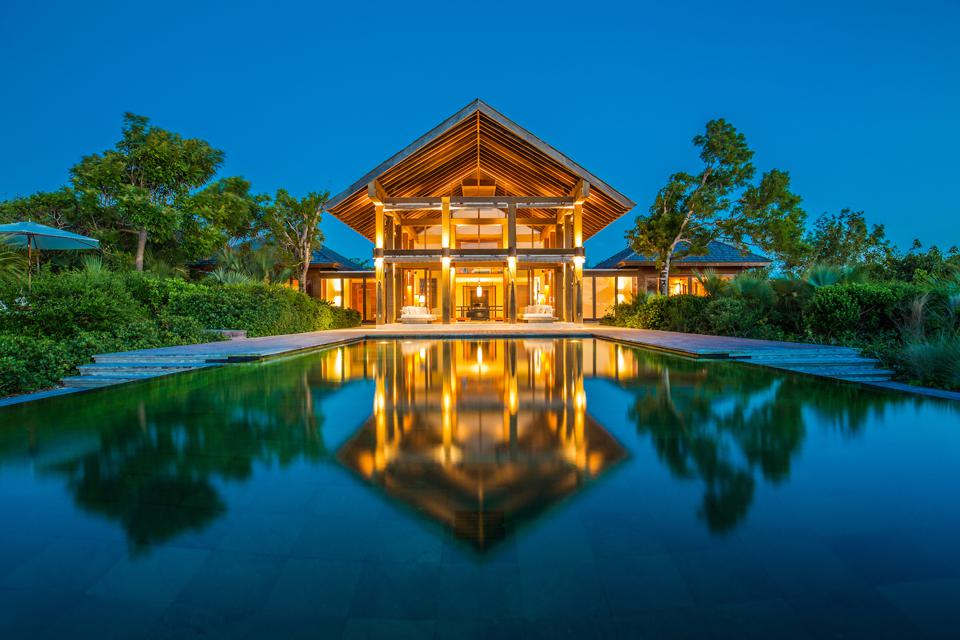 Villa Point House on Parrot Cay in the Turks & Caicos
