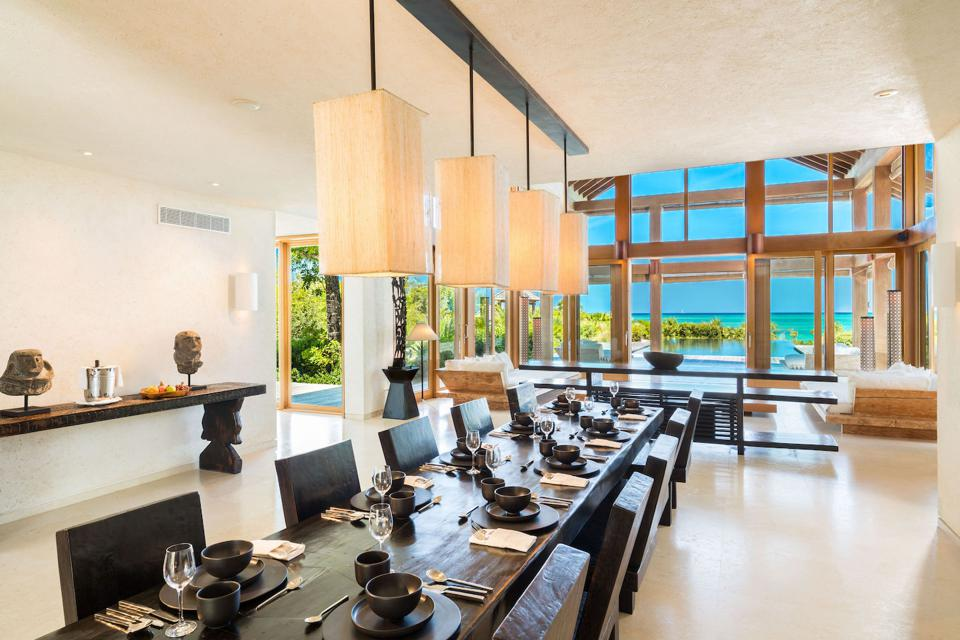 Point House on Parrot Cay in the Turks & Caicos