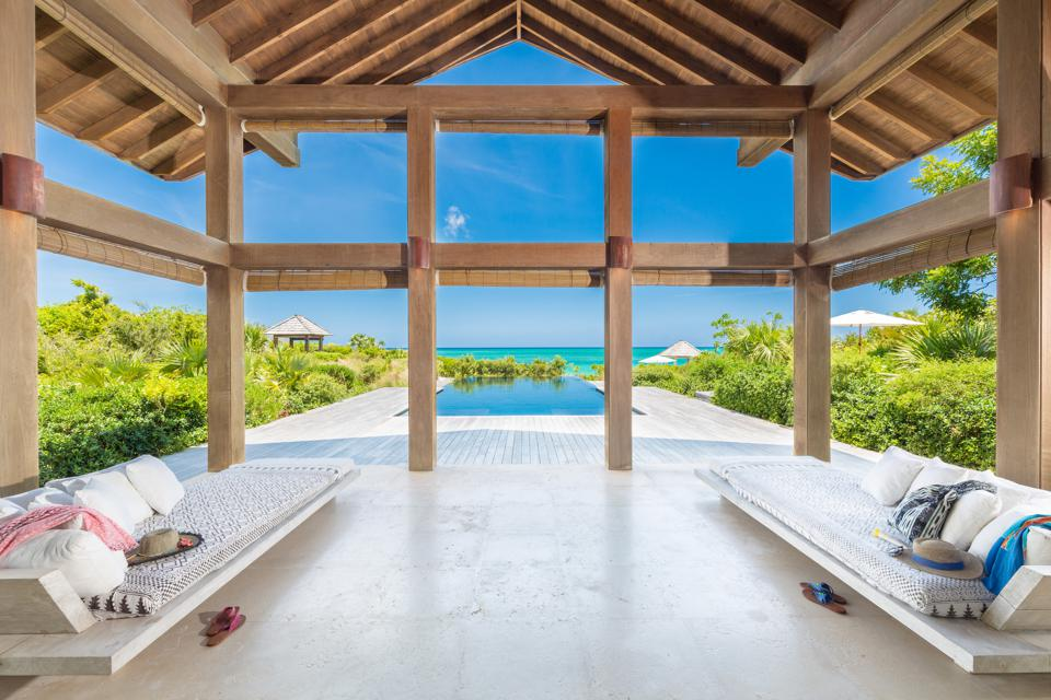 Point House on Parrot Cay in Turks & Caicos