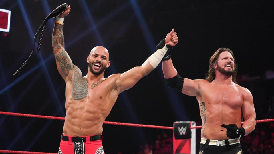 AJ Styles and Ricochet