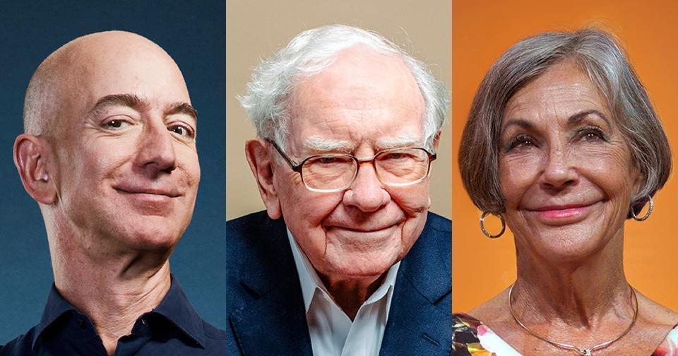 The wealthiest residents in each state include Jeff Bezos, Warren Buffett and Alice Walton