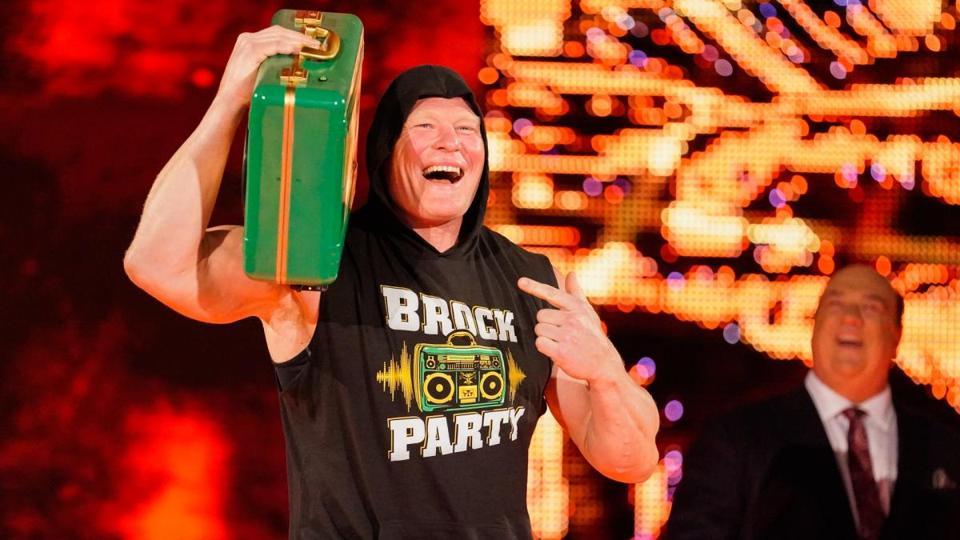 Brock Lesnar briefcase