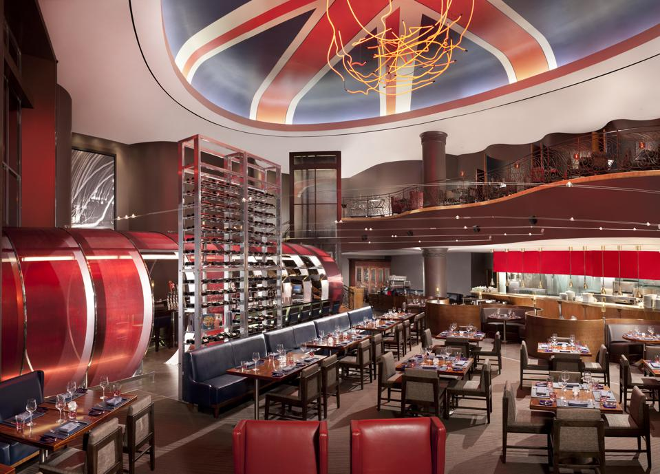 The restaurant concept, Gordon Ramsay Steak, launched in 2012 inside Caesar Entertainment's Paris Las Vegas Hotel & Casino on the Las Vegas Strip.