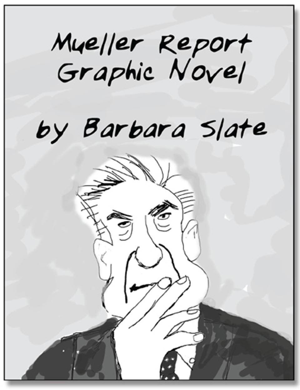 robert mueller report graphic novel barbara slate richard minsky