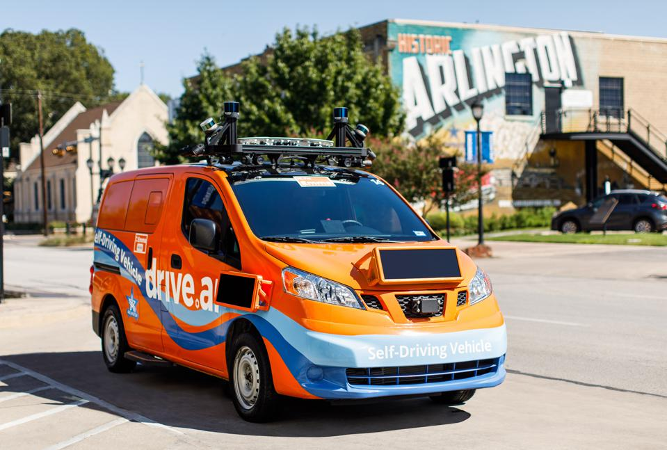 Drive AI Van in Arlington, Texas.