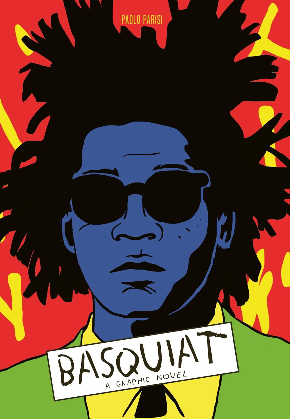 Cover image of Laurence King's BASQUIAT: A Graphic Novel.