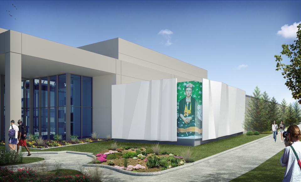 Rendering of Cleve Carney Museum of Art