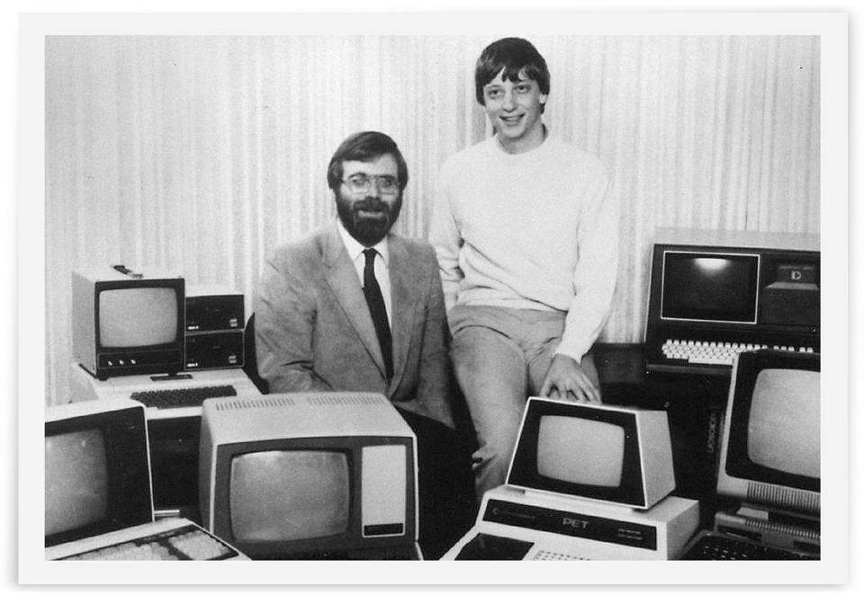 Paul Allen Bill Gates