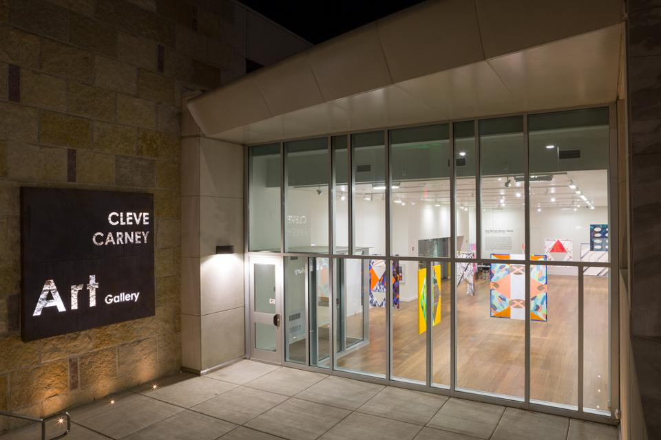 Current exterior of the Cleve Carney Art Gallery