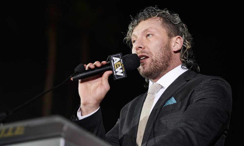 AEW Kenny Omega WWE Fight for the fallen Saudi Arabia EVOLVE