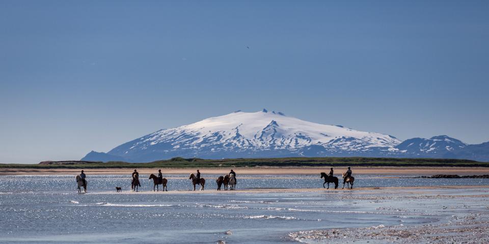 Iceland, volcanoes, Snaefellsjokull