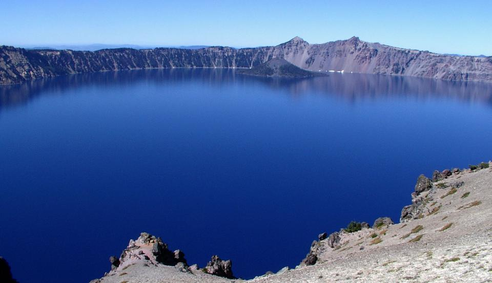 Similar to the Grand Canyon, photos just don't do Crater Lake justice.