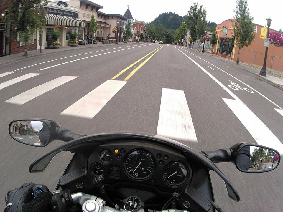 Seeing the world from a motorcycle is a vastly different experience.