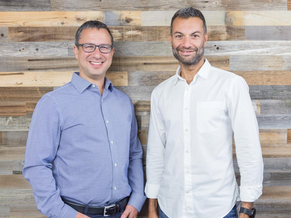 TripActions cofounders Ariel Cohen and Ilan Twig
