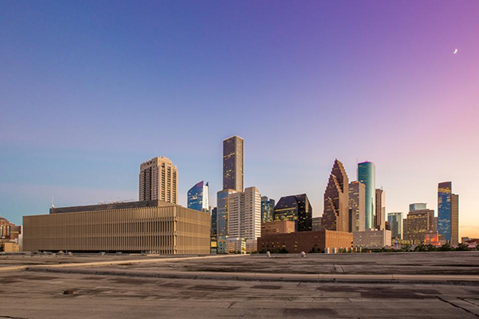A five-acre rooftop park with organic farm is part of plans for Post Houston, Lovett Commercial's adaptive redevelopment of a former post office in downtown Houston.