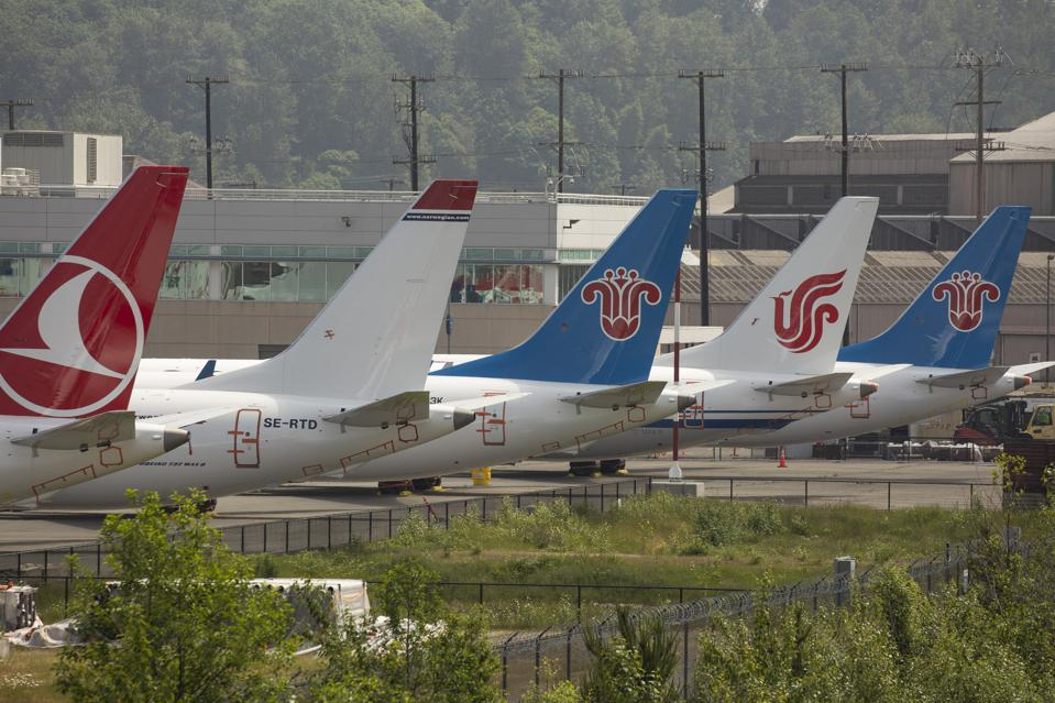The 737 MAX has been grounded since March, and is not likely to fly until next year.