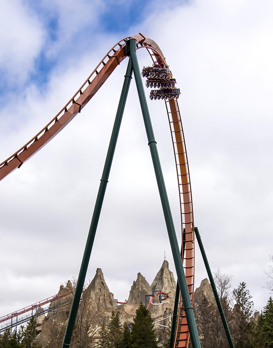 Yukon Striker at Canada's Wonderland