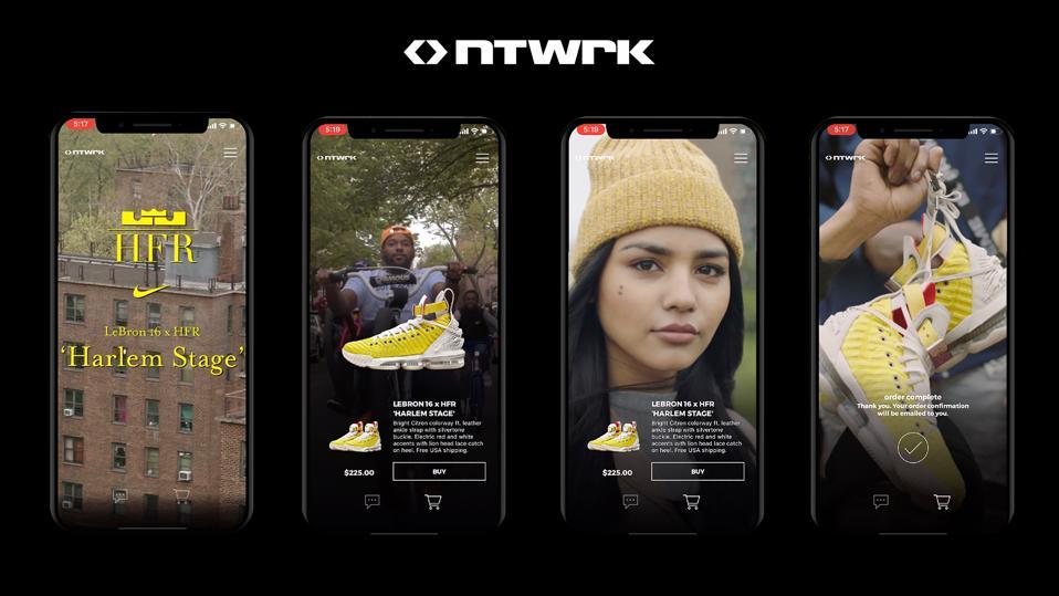 NTWRK's mobile platform