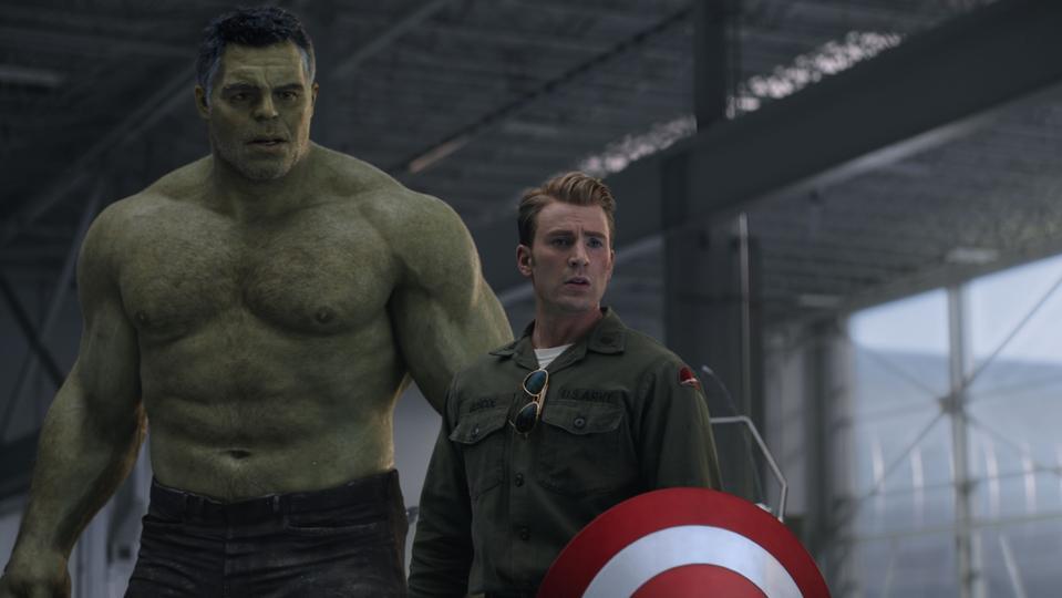 Chris Evans and Mark Ruffalo in 'Avengers: Endgame'