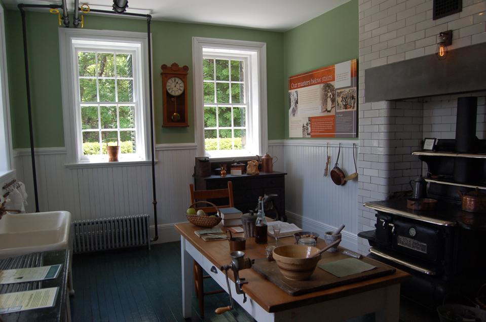 Historic house kitchen.