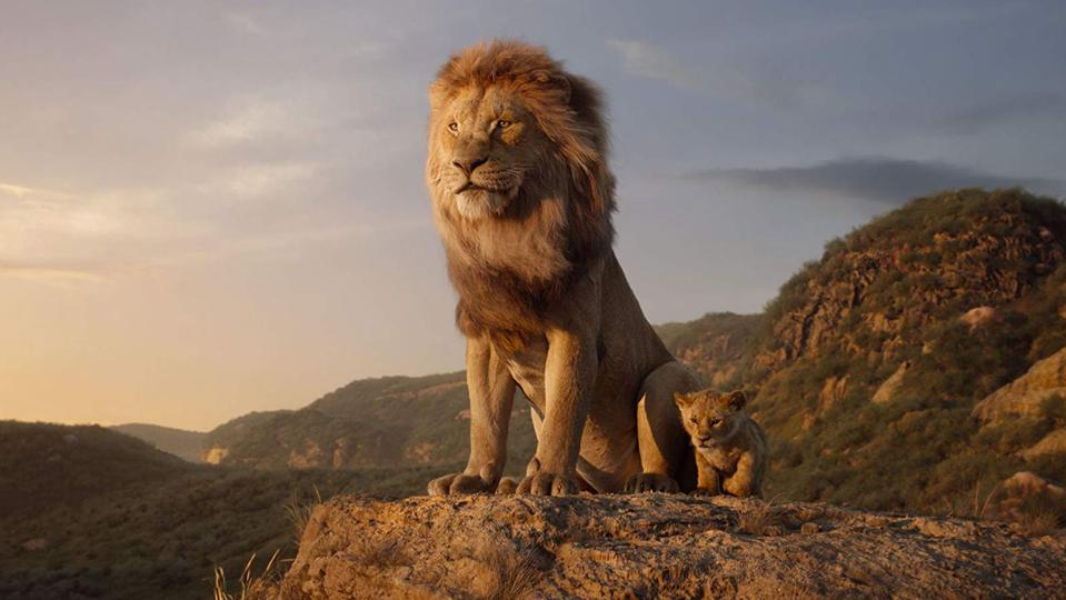 Okay, so is Simba supposed to be Michael Eisner or Jeffrey Katzenberg?