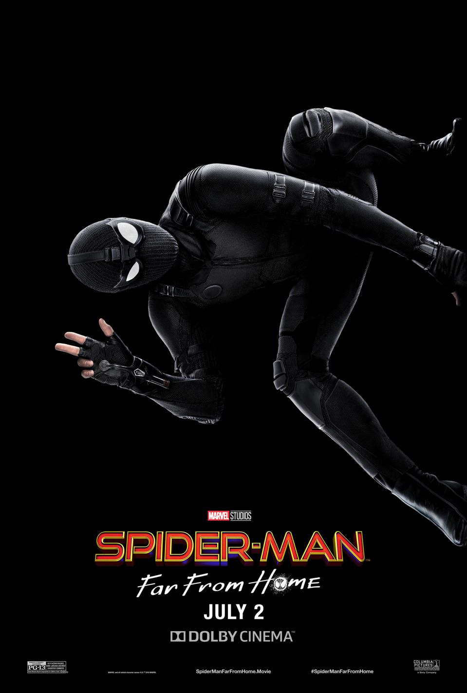 Official Dolby Cinema poster for Marvel's ″Spider-Man: Far From Home″