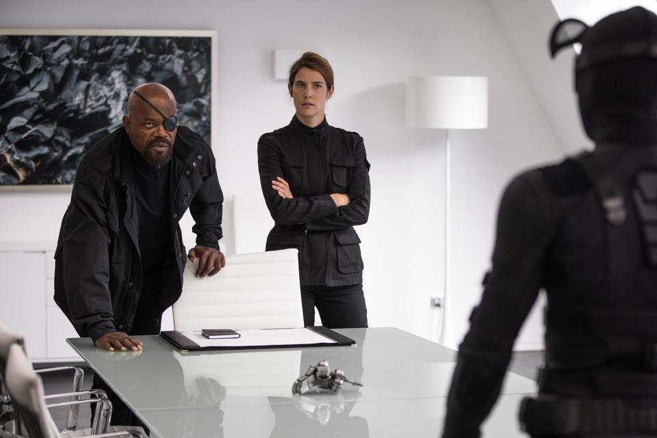 Samuel L. Jackson, Cobie Smulders, and Tom Holland star in Marvel's ″Spider-Man: Far From Home″