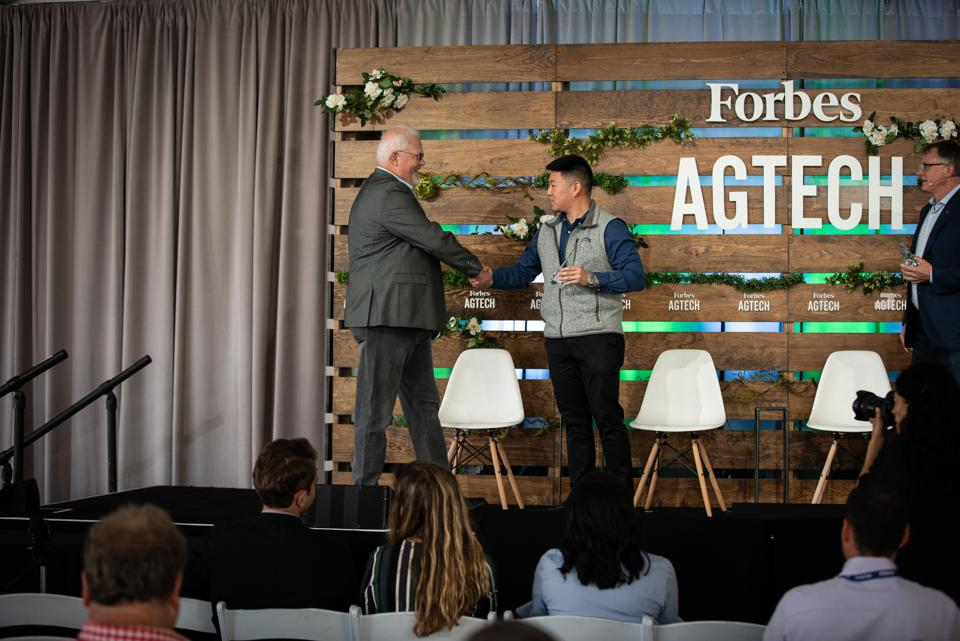 ProteoSense was recognized with the ″Food Safety Award″ at the Forbes AgTech Summit