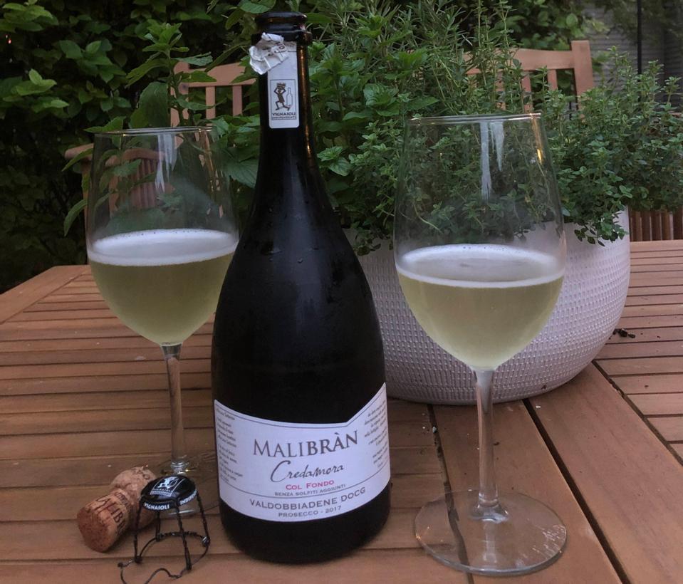 natural wine, natural bubbly wine, Italian bubbly