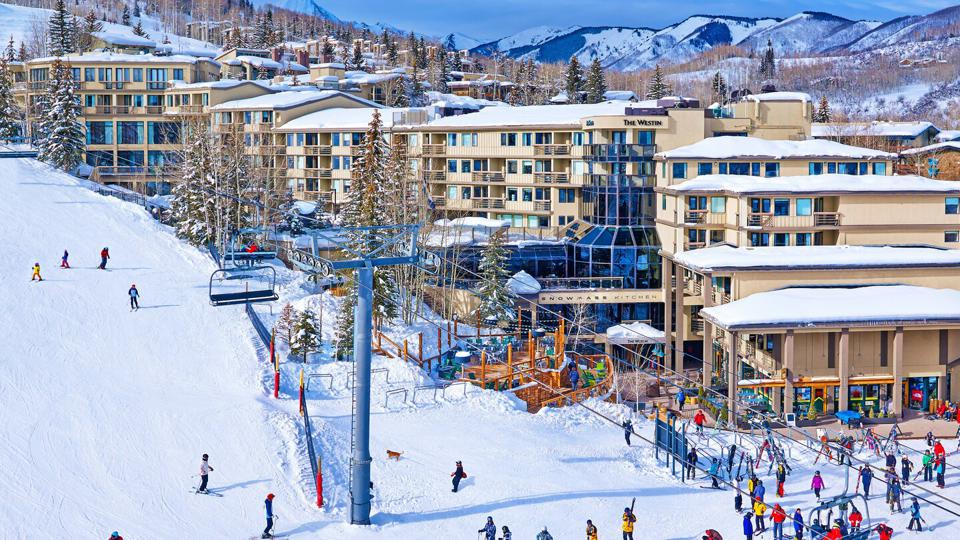 The Westin Snowmass Resort is centrally located to activities.