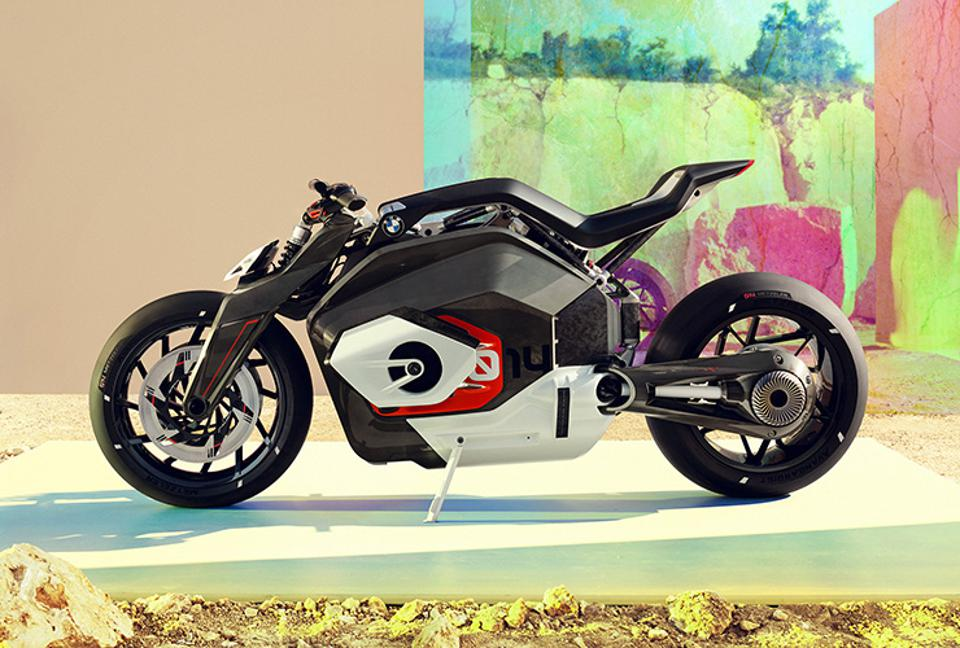 The machine sports numerous interesting ideas for an electric bike.