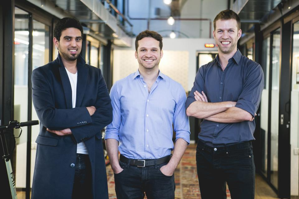 D-ID Co-founders: Eliran Kuta, Gil Perry, and Sella Blondheim