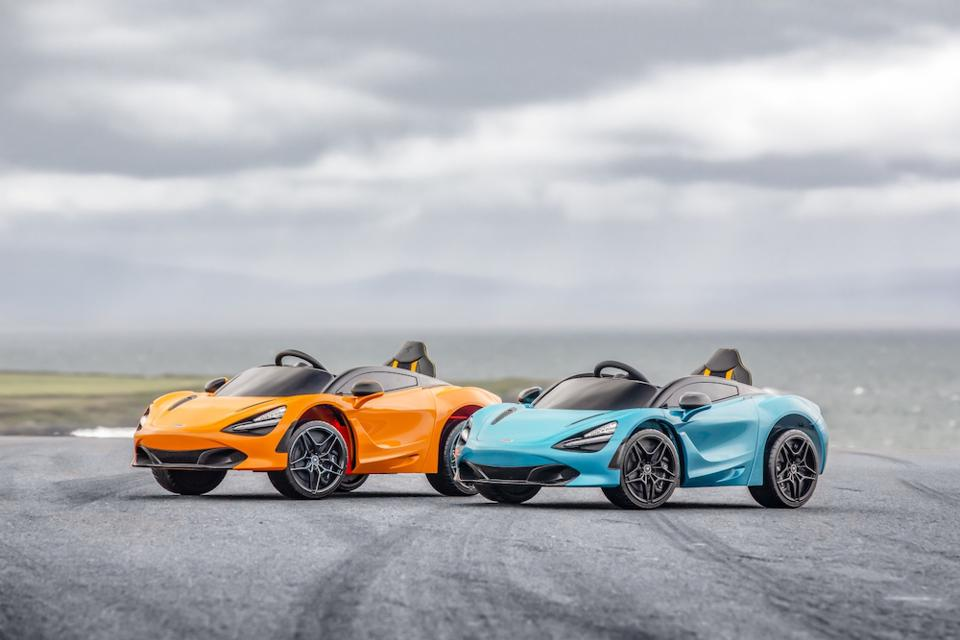 The 720S Ride-On is officially licensed and available in the marque's most popular colors