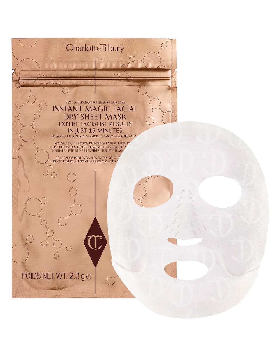 Charlotte Tilbury Instant Magic Facial Dry Sheet Mask