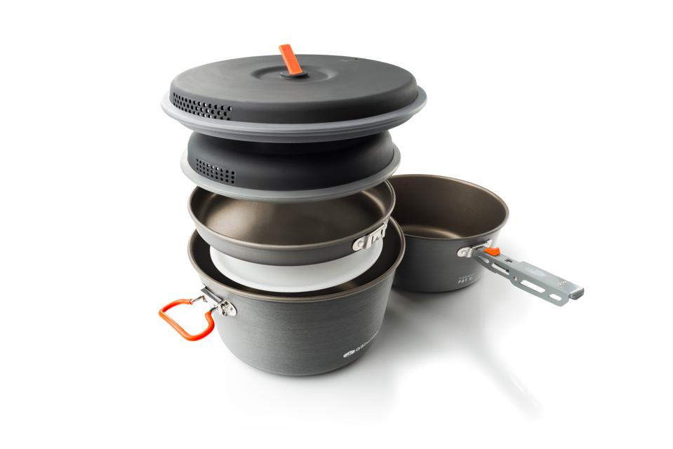 GSI Outdoors' nested cookware.