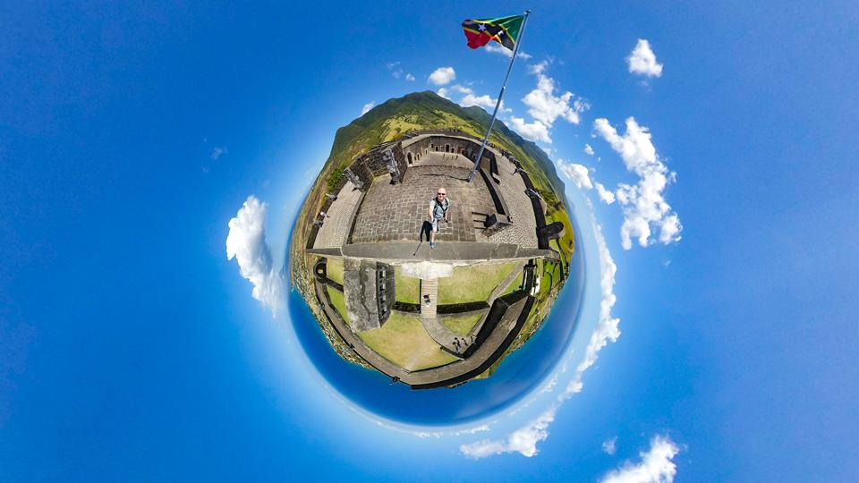 Exploring Brimstone Hill Fortress On The Island Of St. Kitts