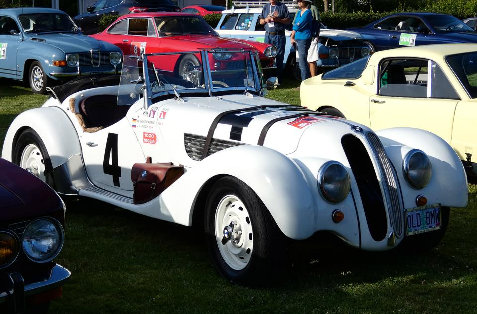 This pre-war BMW was a veteran of many rallies both in the U.S. and abroad.