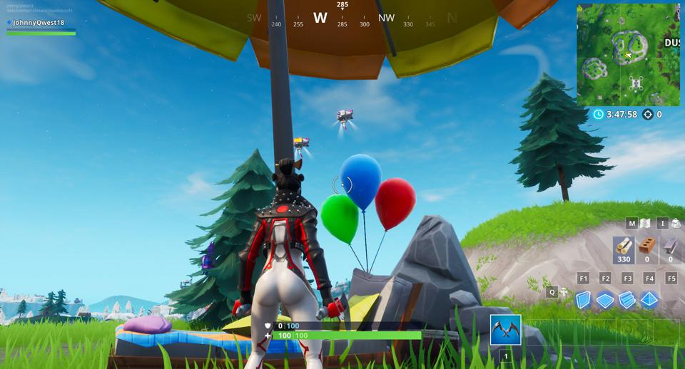 Fortnite Party Balloon Locations Where To Pop Decorations