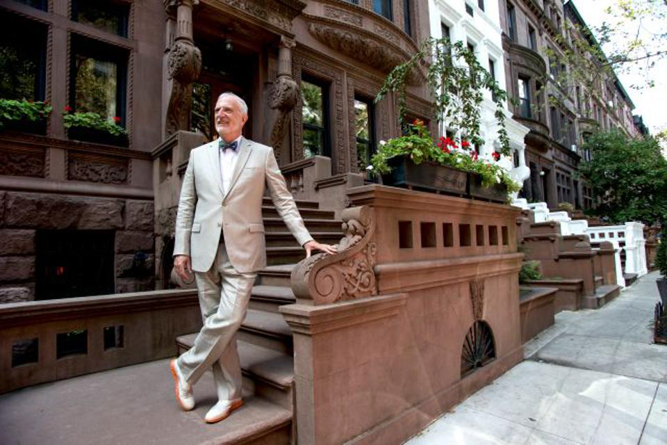 Fred Peters loves New York's signature buildings