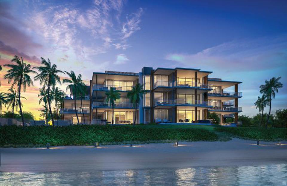 The first oceanfront luxury condominium in Delray Beach