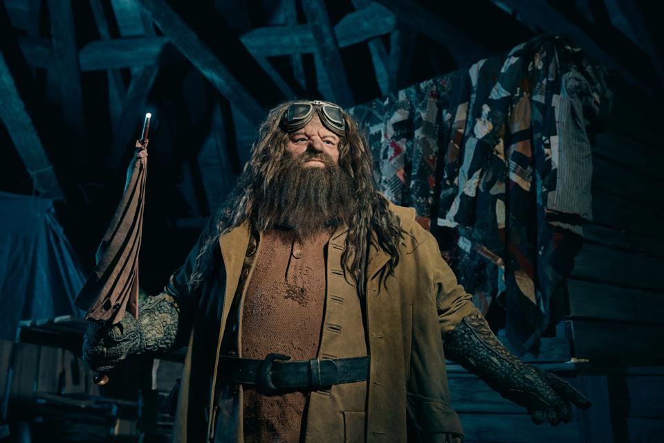 Characters from the Harry Potter film franchise have given Universal's theme parks greater growth than their rivals