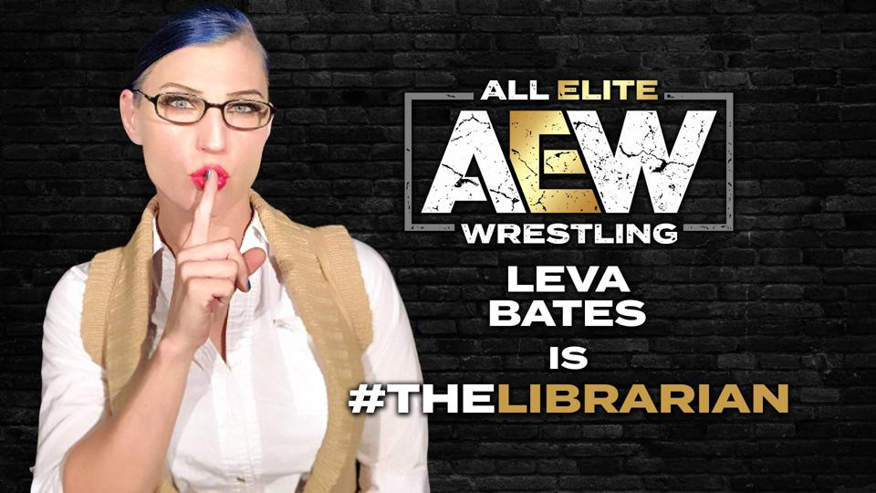AEW Leva Bates Librarian Peter Avalon