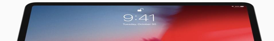 2018 iPad Pro.