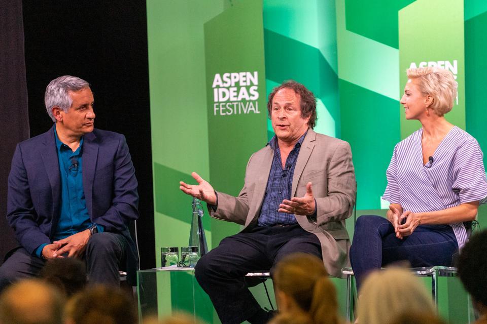 John Torres, Rick Doblin, Mallory Loflin, Aspen Ideas Festival