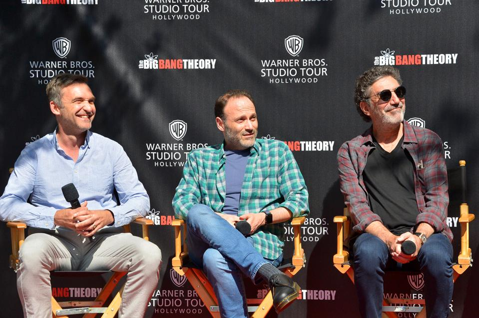 Big Bang Theory, Chuck Lorre, interview, Warner Bros. Studio Tour, reunion, sequel, CBS