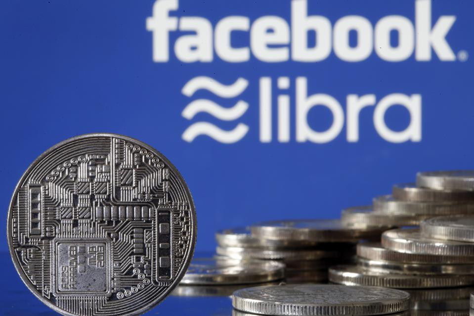 Facebook Libra Virtual Currency : Illustration