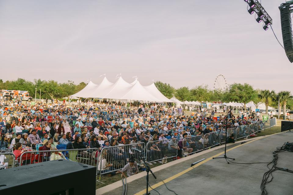 Concert in the Park at UNwineD 2019