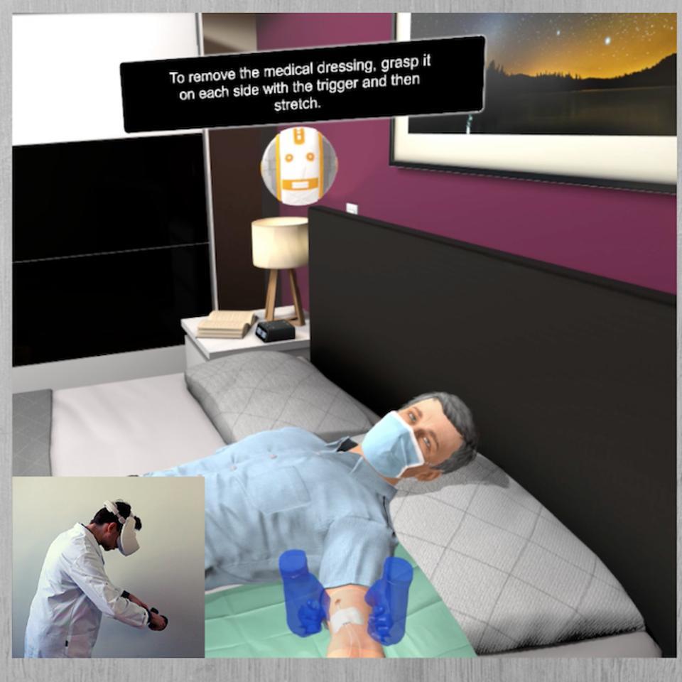 VR healthcare training